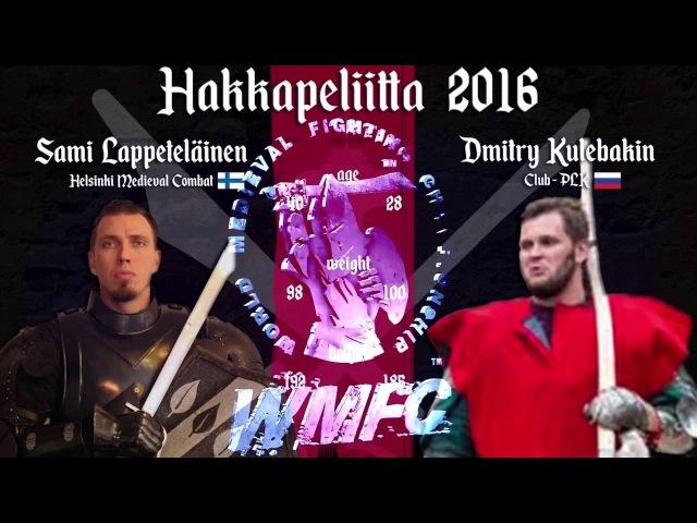 WMFC Hakkapeliitta 2016 - 4th fight Lappeteläinen vs Kulebakin