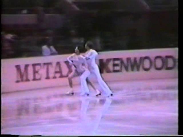 Irina Moiseeva Andrei Minenkov URS - 1981 World Championships CD2