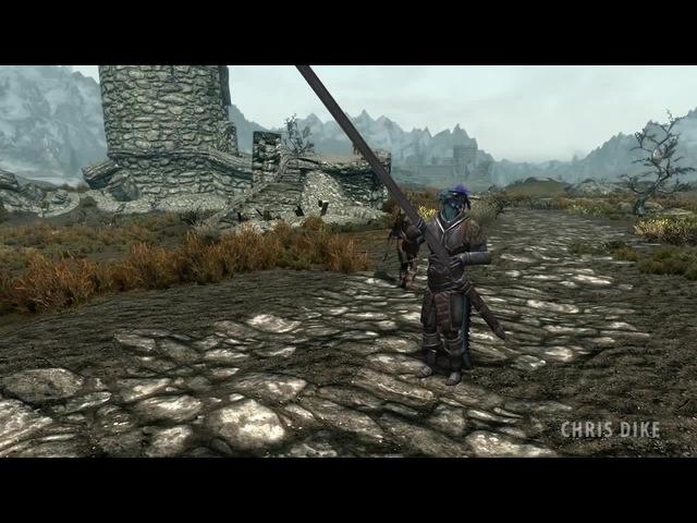 Skyrim Sword Problem