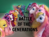 MLP- Battle Of The Generations G3 VS G4