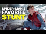 Spider-Man: Homecoming - Tom Hollands Favorite Stunt