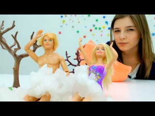 Барби и Кен идут в сауну. Видео для детей и игры для девочек. Мамы и Дочки