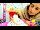 Игры для девочек и видео про кукол лечим Барби от простуды. Игрушки barbie на ютуб