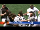 GIANTS BRAWL- Bad feelings between SFs Hunter Strickland and Nats Bryce Harper boil over into a fistfight