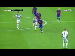Проход Месси с центра поля и гол в ворота «Эйбара»