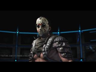 Mortal Kombat XL - All Characters-NPCs Perform Jason Victory Pose