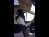 Car Salesman Dick Flash During the Test Drive