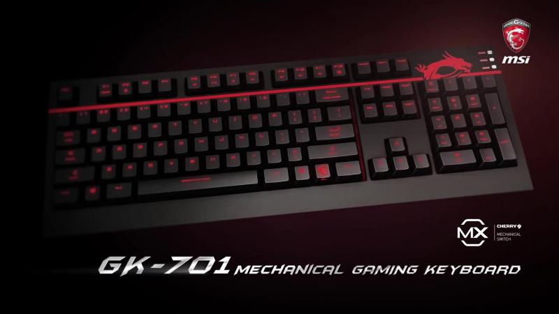 Механічна клавіатура MSI GK 701