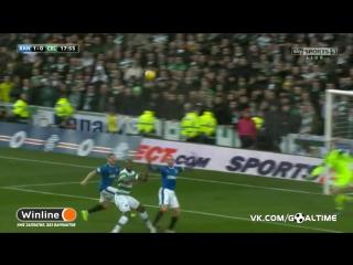 Рейнджерс - Селтик 1:2. Обзор матча. Чемпионат Шотландии 2016/17. 21 тур.