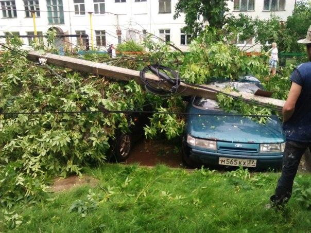 Ураган в Кохме