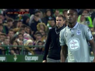 Кубок Испании 2016-17 / 4 раунд / Первый матч / Бетис - Депортиво / 1 тайм