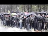 Не смотря на насмешки, издевательства, унижения, они стояли Стояли до конца  Запорожье, 2014 год