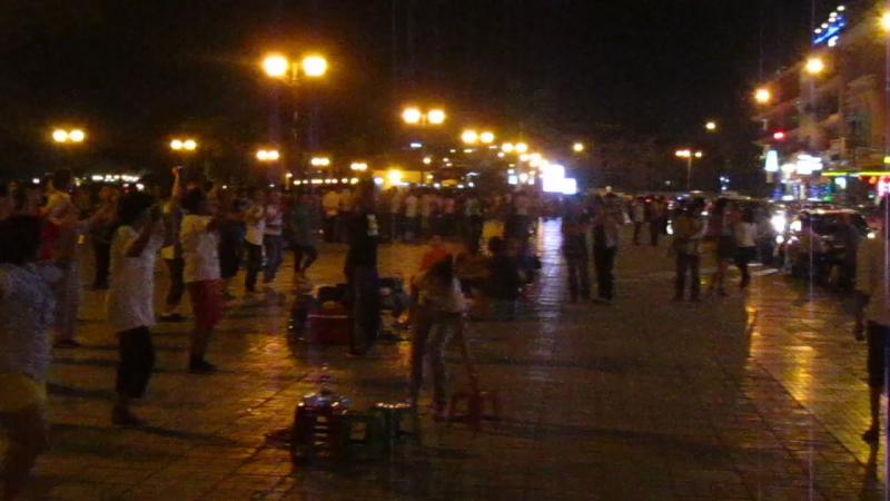 ночной кхмерский фитнес