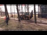 Cнос зданий на Крестовском острове к Чемпионату мира-2018. Прямая трансляция