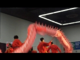 Chinese New Year. Dragon dance  Китайский Новый Год. Танец дракона.