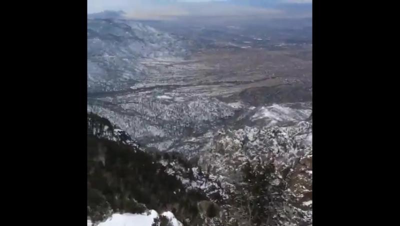 Лэндо в горах.