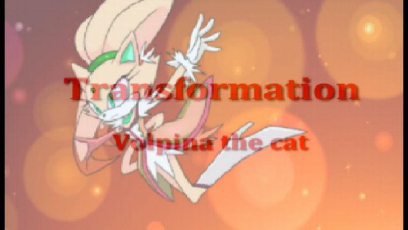 Volpina the cat transformation (FANMADE)