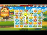 Farm Heroes Saga Level 1 Only 3 StarS Game preview (Анонс игры)