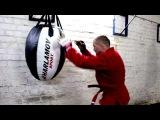 Работа на боксёрском мешке