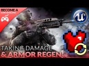 Regenerating Armor Damage Function - 4 Creating A First Person Shooter (FPS) With Unreal Engine 4