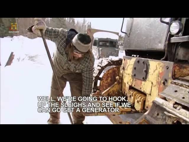 Ледовый путь дальнобойщиков 7 сезон 6 серия