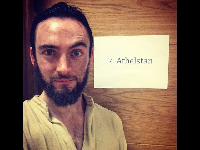 The Vikings Behind the Scenes Athelstan's Funny moments