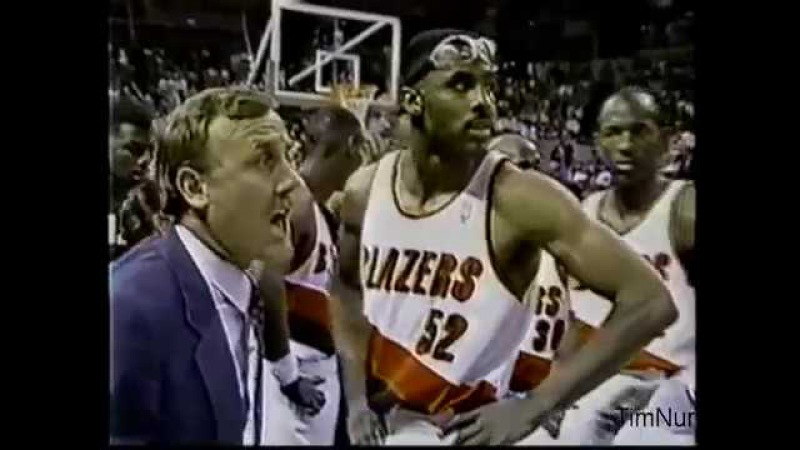 Chicago Bulls vs Portland Trail Brazers (NBA Finals 1992 Game 5)