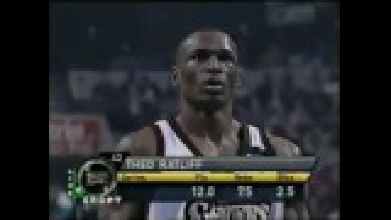 Hornets - Sixers NBA Playoffs ECR1 G3 2000