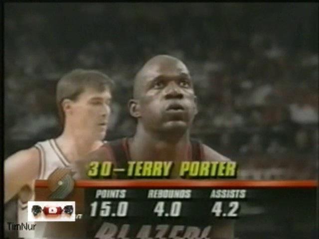 Chicago Bulls - Portland Trail Brazers (NBA Finals 1992 Game 6)