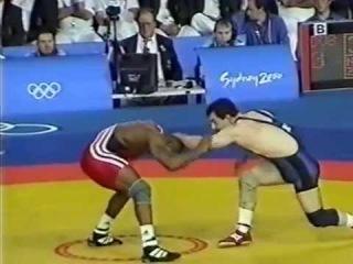 Khadem Amir Reza (IRI) - Romero,D.(CUB) 85 kg. 2000 Olympyiskie igri