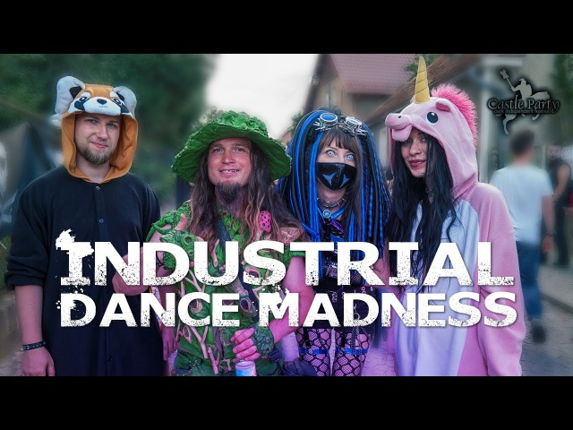 Castle Party 2016 Industrial Dance Madness by Sayomi [ Music Dance video ]