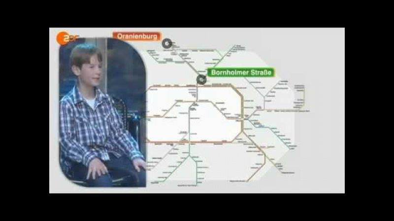 Wetten Dass..? Kinderwette S-Bahn Julian Zude (Düsseldorf, 06.10.2012)