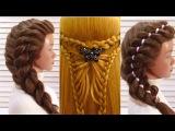 Топ 5 Самых Простых и Красивых Причесок на Выпускной. Top 5 Amazing Hairstyles Tutorial Compilation