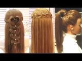 Top 5 Простые и Удивительные Прически. Top 5 Amazing Hairstyles Tutorial Compilation 2017