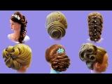 Топ 10 Самых  Красивых Причесок на Выпускной. Top 10 Amazing Hairstyles Tutorials Compilation 2017
