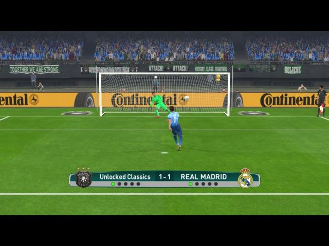 PES 2017 | Goalkeeper Ronaldo vs Goalkeeper Maradona | Penalty Shoot-out 2017 | Gameplay