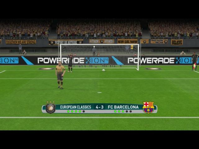 PES 2017 | Goalkeeper Messi vs Goalkeeper Zidane | Penalty Shoot-out 2017 | Gameplay