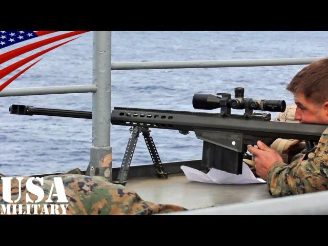バレットM82対物ライフル・海兵隊スカウトスナイパー射撃訓練 - Barrett M82 Anti-materiel Rifle,