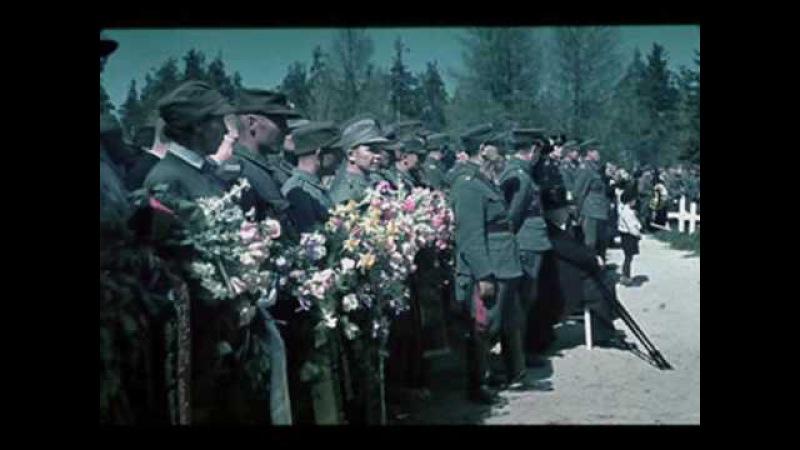 Finland WW2 in color Suomi war 1939 Finnish Waffen-SS Potpourri Marssi March