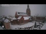 Домская площадь. Рождественские ярмарки 2017, Рига  Christmas Market, Riga, Latvia