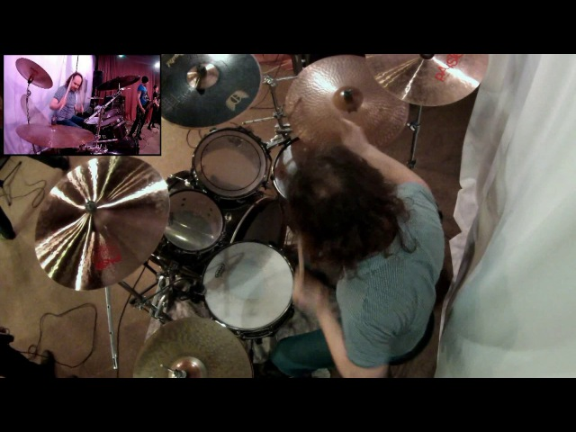 ASTERIA thrash metal band - Choice (dual drum cam view)