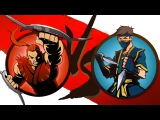 Мультик Игра Shadow Fight 2 Бой с тенью #6 - Бой с БУЙВОЛ, Пророк, Шин, Кирпич #КРУТИЛКИНЫ