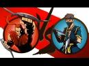 Мультик Игра Shadow Fight 2 Бой с тенью 6 - Бой с БУЙВОЛ, Пророк, Шин, Кирпич КРУТИЛКИНЫ