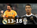 Juventus vs Real Madrid 18-13 - Head to Head - All Goals (1998-2017) HD