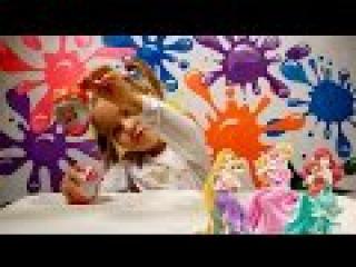 ПРИНЦЕССЫ ДИСНЕЙ Киндер джой распаковка игрушек Disney Princess Kinder Joy toys