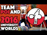 Team Poland - 2016 University Worlds Training Hall (Nov 13th)