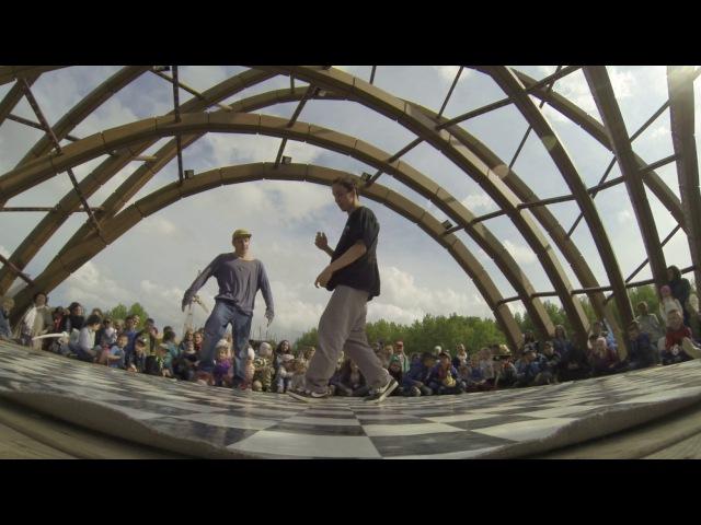 Bboy Vint vs bboy Ruslan