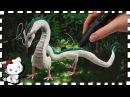 3D Pen Anime Creation ♥ Chihiro's Haku Dragon / Drache ♥ from Spirited Away! 12 Inches long!