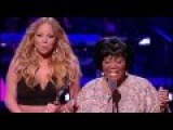 Mariah Carey Honors Patti LaBelle with Living Legend Award (2013 Black Girls Rock!)