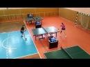 Чемпионат Саратовской области по настольному теннису 2016 год. Баннова Ольга - Шты